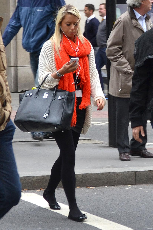 Street Hype // The City of London Knitwear Lady