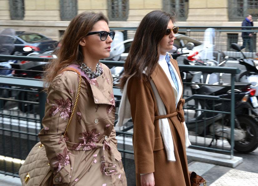 Shady Ladys on Rue de l'École de Médecine, Paris 2014, This Is Hype - We hate Fashion, but we love the People who wear it!