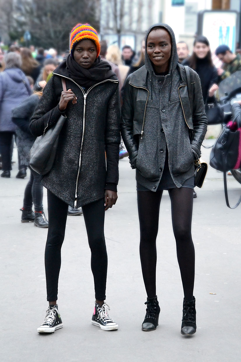 African models on Avenue du Président Wilson, Paris 2015, This Is Hype - We hate Fashioon, but we love the People who wear it!