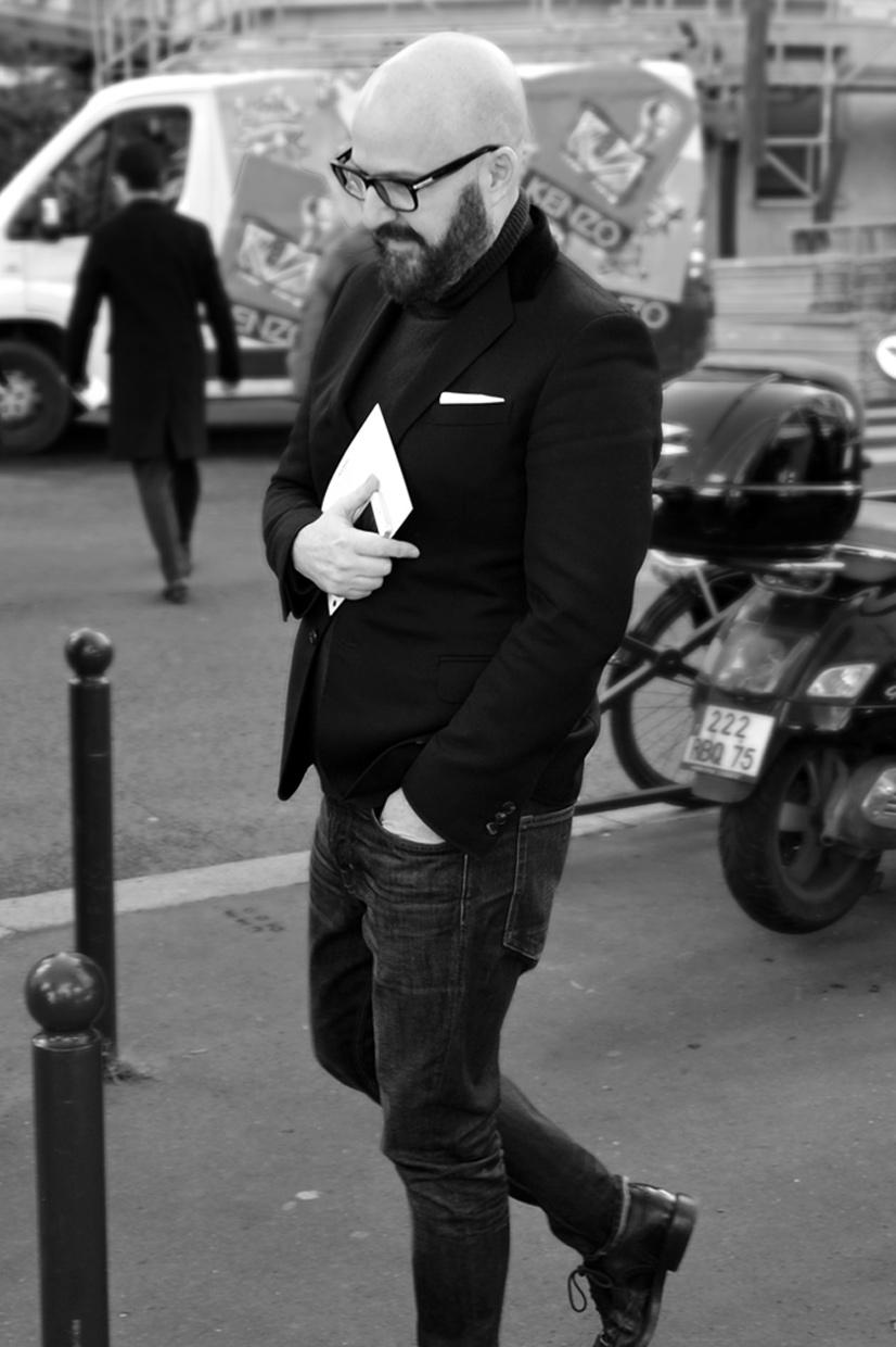 Man with beard on Rue du Docteur Blanche, Paris 2016, This Is Hype - We hate Fashion, but we love the People who wear it!