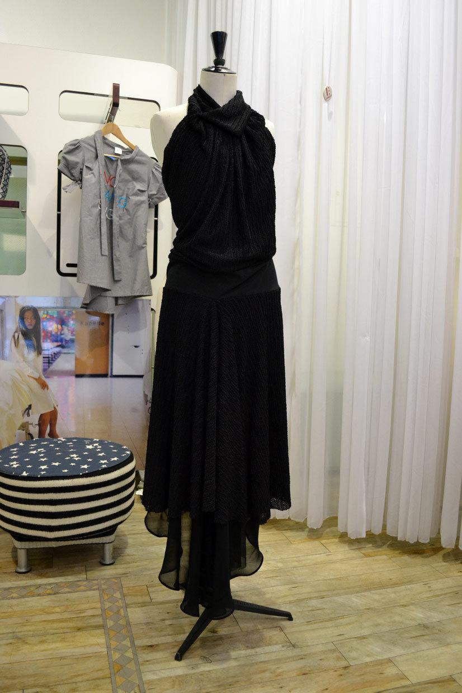 Black dress by Chang13°, Maastricher Straße, Cologne, Köln 2013, Fashion Now, asianartist, wonderwoman, Hype Profile // Cologne Chang13°, couture, designer, fashion designer, artist, tailor, fashion store, clothing, design