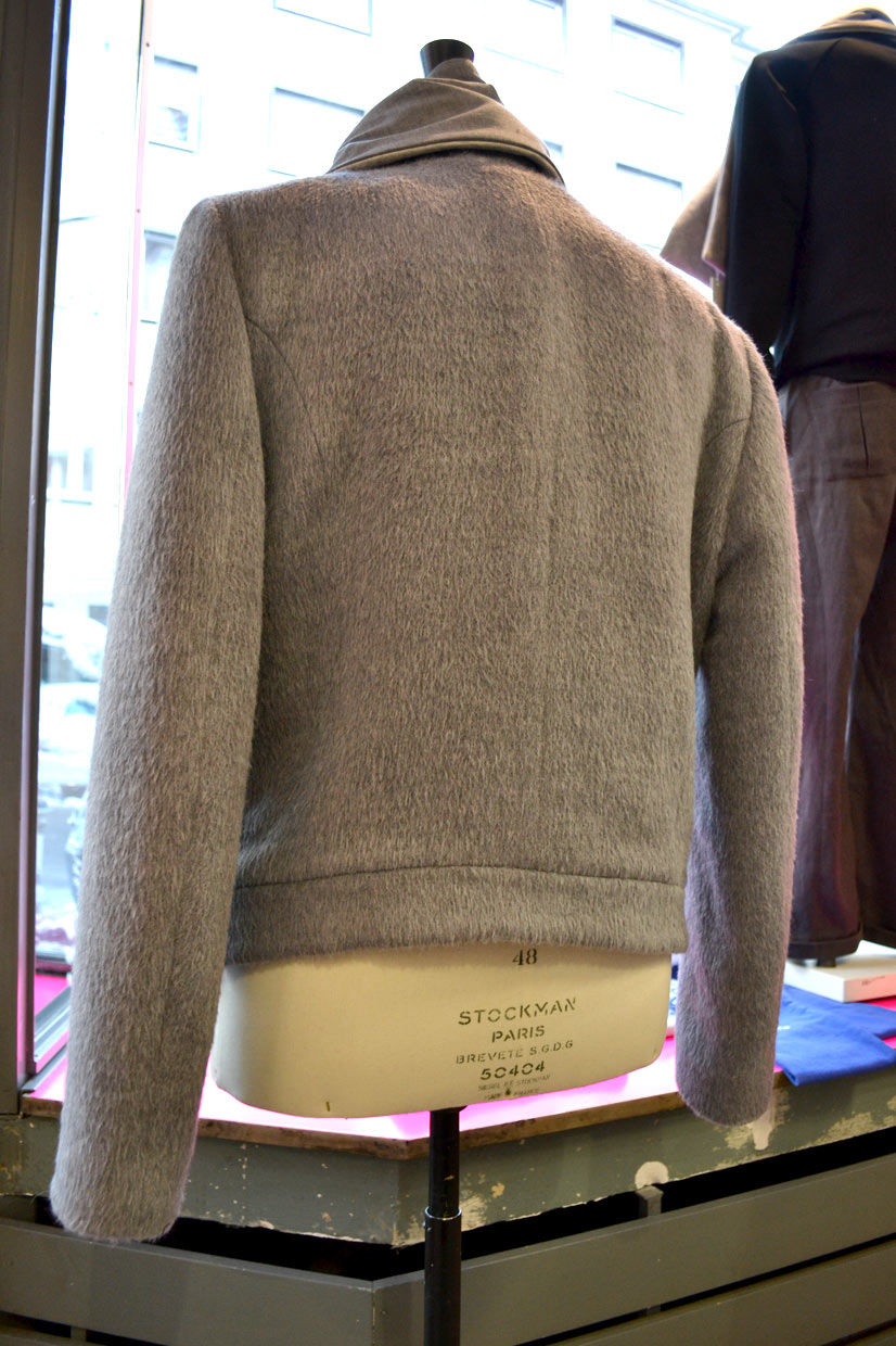 Cashmere cotton jacket on stockman by Christian Breil (Holly-Berlin), Cologne, Köln 2013, Fashion Now, asianartist, wonderwoman, couture, Hype Profile // Cologne Chang13°, designer, fashion designer, artist, tailor, fashion store, clothing, design