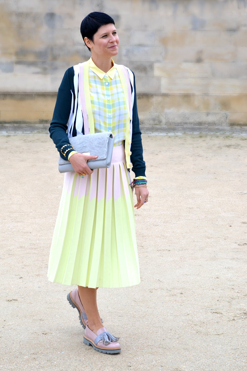 Elisa Nalin in the Tuileries Garden, Paris 2015, This Is Hype - We hate Fashion, but we love the People who wear it!