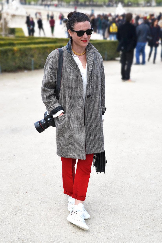 Garance Doré in the Tuileries Garden, Paris 2013, Street Hype