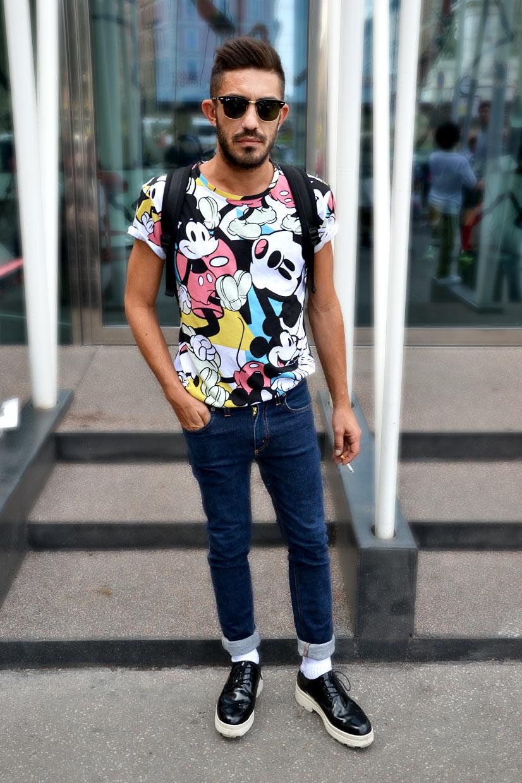 Street Hype // Milan Hugo - Hugo on Via Luca Beltrami, Milan 2015, This is Hype - We hate Fashion, but we love the People who wear it!