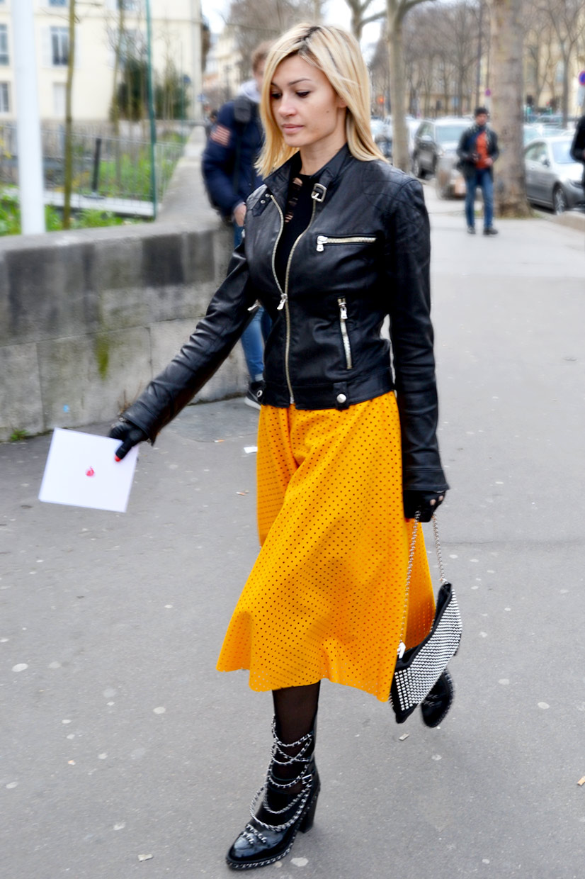 Irina on Avenue du Président Wilson, Paris 2015, This Is Hype - We hate Fashion, but we love the People who wear it!