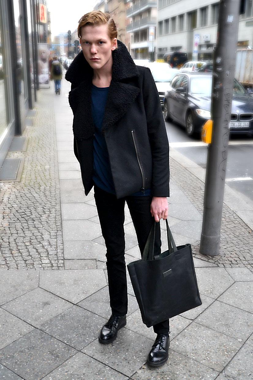 Julian on Friedrichstraße, Berlin 2015, This Is Hype - We hate Fashion, but we love the People who wear it!