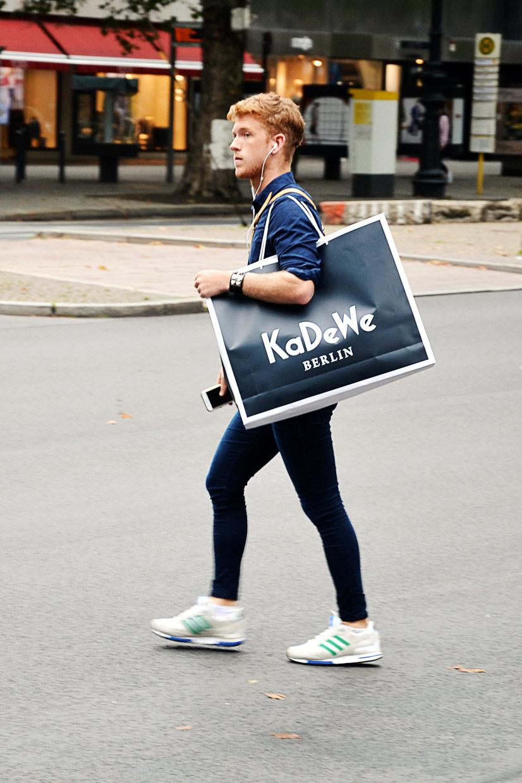 The KaDeWe Boy 1 on Kurfürstendamm, Berlin 2016, This Is Hype - We hate Fashion, but we love the People who wear it!