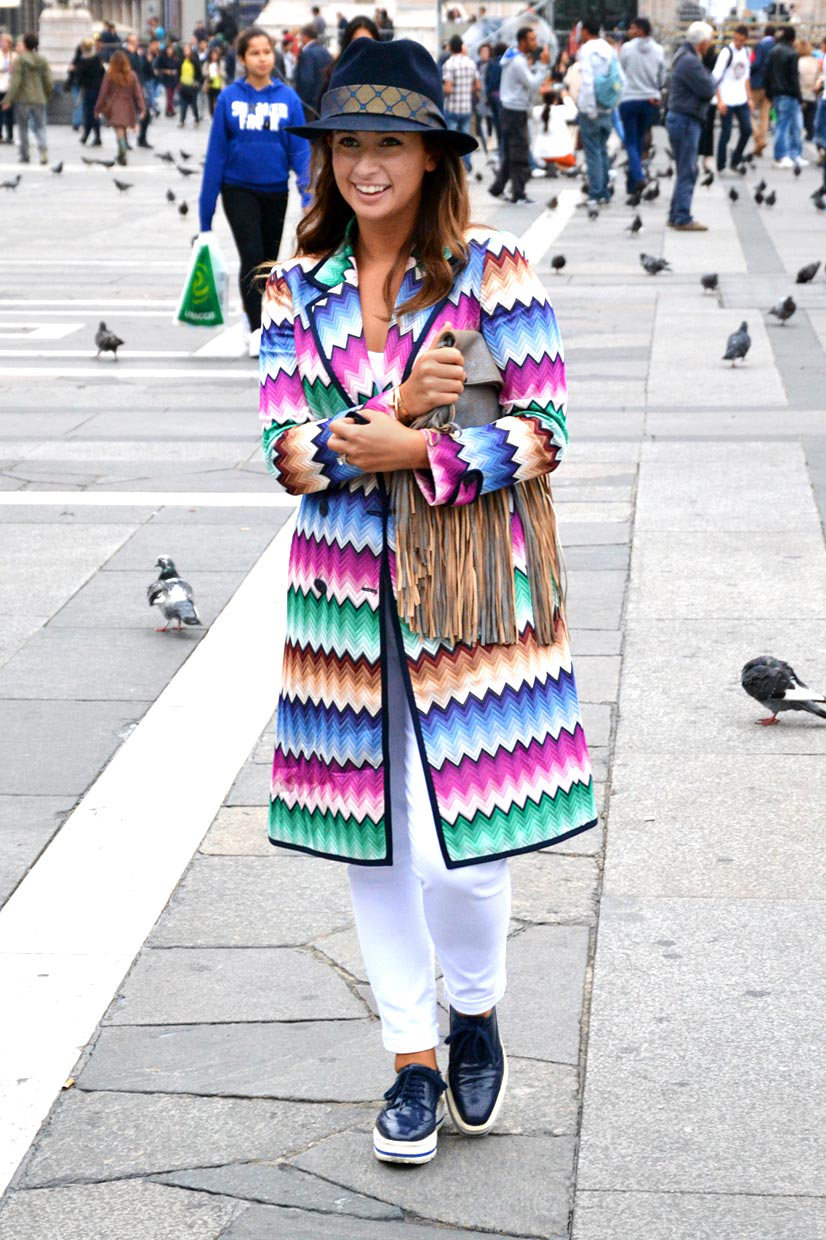 Luisa on Piazza del Duomo, Milan 2014, This Is Hype - We hate Fashion, but we love the People who wear it!