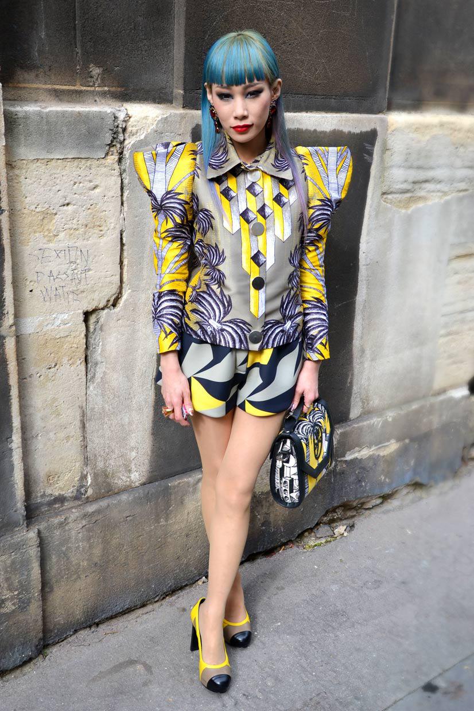 Mademoiselle Yulia at Eglise de L'Oratoire du Louvre, Paris 2013, Hype Profile // Paris Mademoiselle Yulia