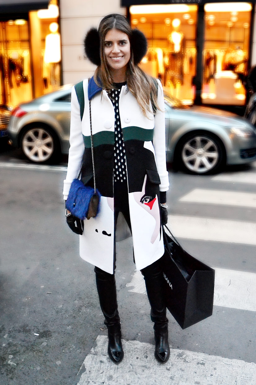 Mariana on Rue Saint Honoré, Paris 2015, This Is Hype - We hate Fashion, but we love the People who wear it!