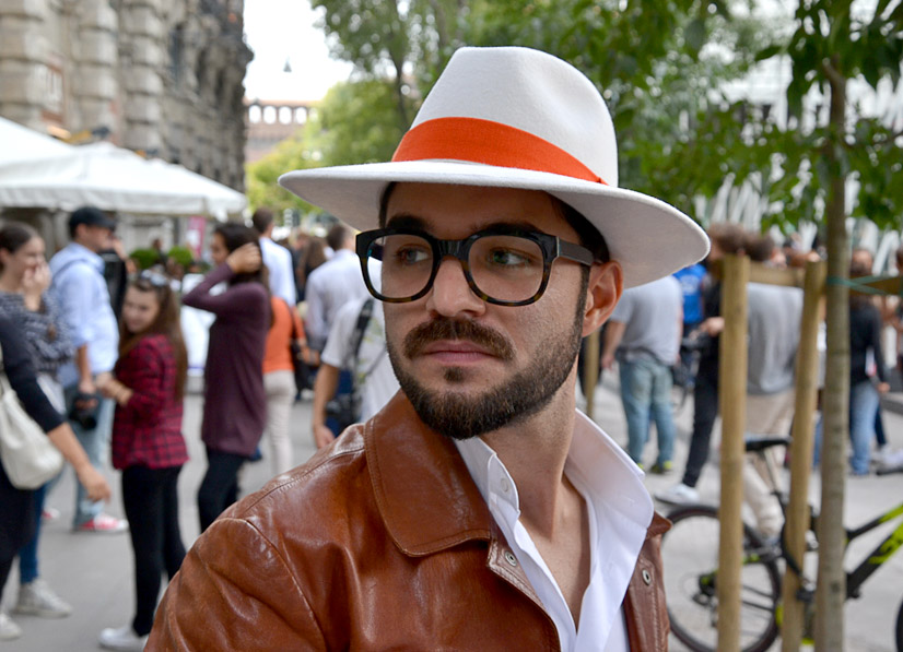 Mario on Via Luca Beltrami, Milan 2016, This is Hype - We hate Fashion, but we love the People who wear it!