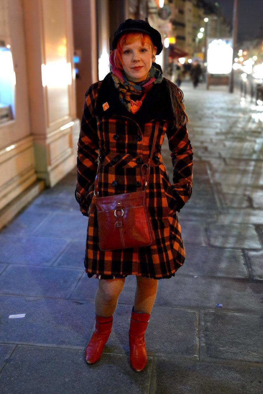 Michelle on Rue de Rivoli, Paris 201, Street Hype // Paris Michelle