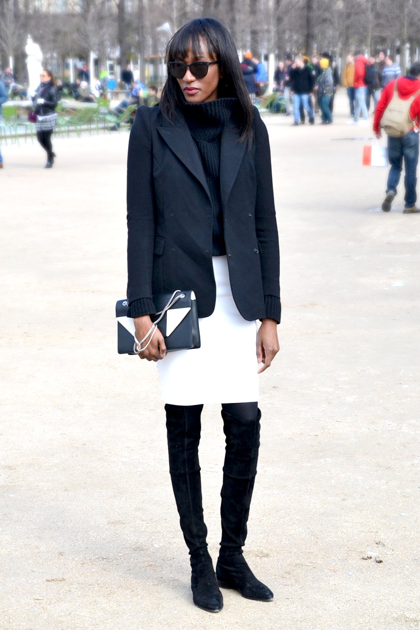 Peju in the Tuileries Garden, Paris 2015, This Is Hype - We hate Fashion, but we love the People who wear it!