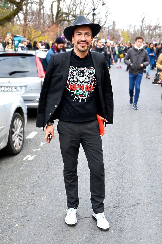 Phillip on Avenue du Général Eisenhower, Paris 2016, This Is Hype - We hate Fashion, but we love the People who wear it!