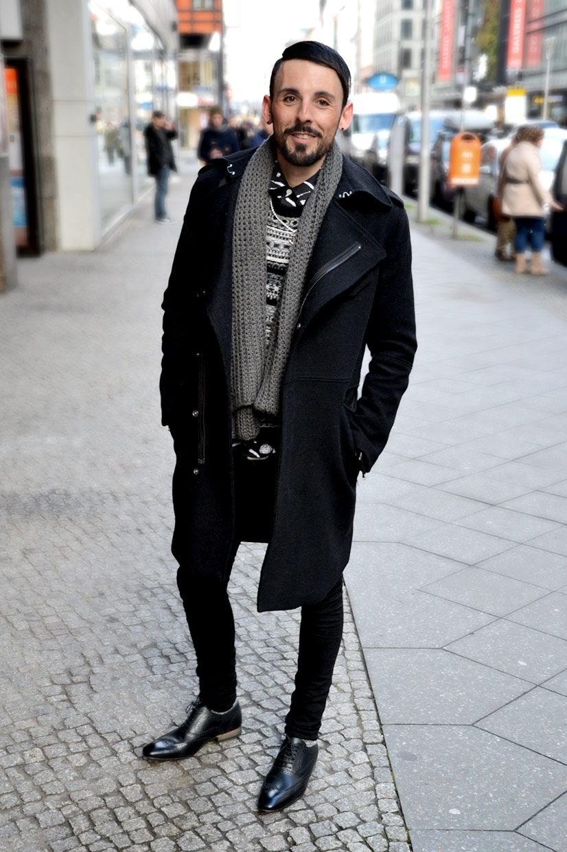 Roberto on Friedrichstraße, Berlin 2014, This Is Hype - We hate Fashion, but we love the People who wear it!