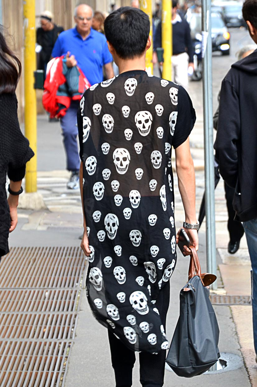 Snapped in Milan 2016, Boy Skull sprinkled, This Is Hype - We hate Fashion, but we love the People who wear it!