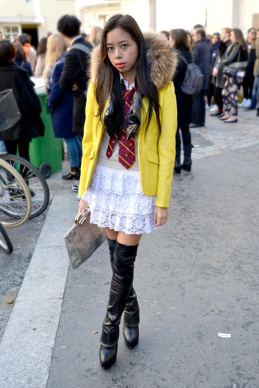Sonya on Rue de l'École de Médecine, Paris 2015, This Is Hype - We hate Fashion, but we love the People who wear it!