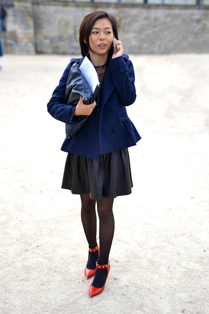 Winkee in the Tuileries Garden, Paris 2014, This Is Hype - We hate Fashion, but we love the People who wear it!